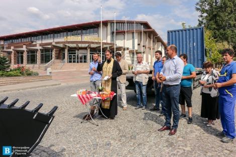 ВиК-Панагюрище обогати парка си с нов багер