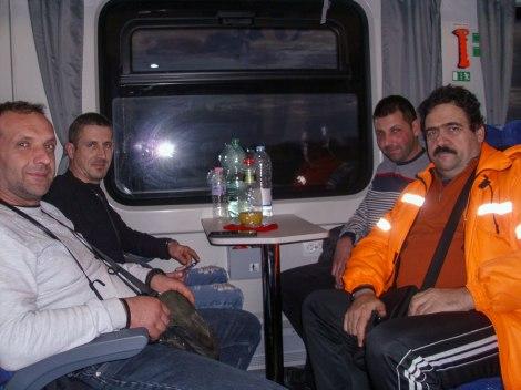 Първият панагюрец, който е пътувал с новите влакови композиции на БДЖ
